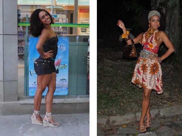 Tamtam antes e depois da transformação (Foto: Malhação / Tv Globo)