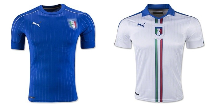 Camisas Eurocopa italia