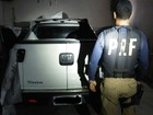 PRF recupera veículos roubados e prende suspeitos na Grande Natal