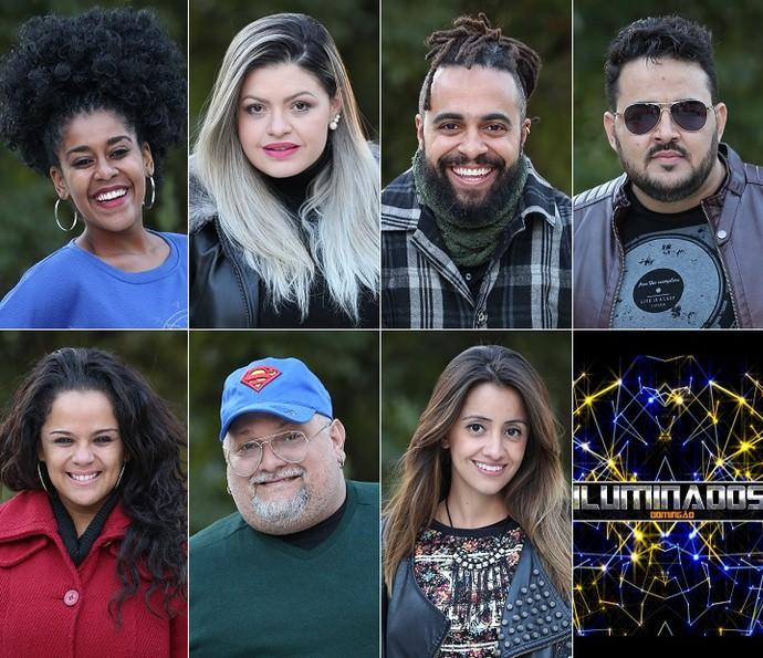 Participantes da temporada 2016 do 'Iluminados' (Foto: Carol Caminha/Gshow)