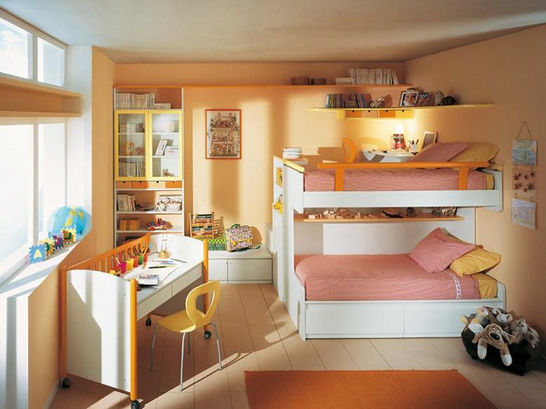 Quarto pequeno para duas crian as como decorar e ganhar for Dormitorio 2x3