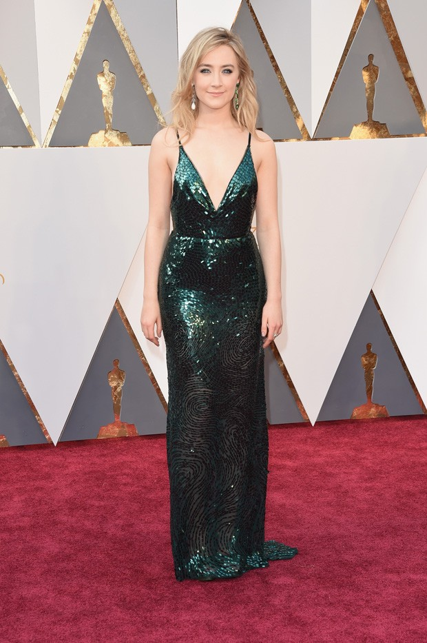 Oscar 2016 - Saoirse Ronan (Foto: GNT)