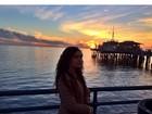 Lívian Aragão curte fim de tarde em Los Angeles