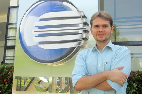 A partir desta segunda, 23 de março, o jornalista Marcos Prado é o novo repórter do bloco local do Globo Esporte (Foto: Katylenin França)