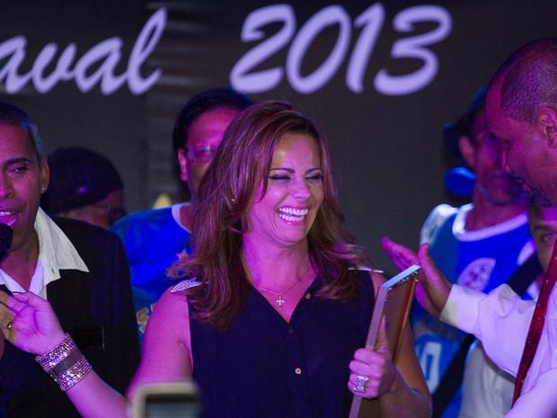 Viviane Araújo em premiação no Rio (Foto: Alex Nunes/ Divulgação)