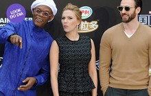 Look do dia: Scarlett Johansson usa conjuntinho em première na China
