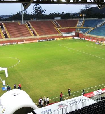 Arena Joinville (Foto: João Lucas Cardoso)