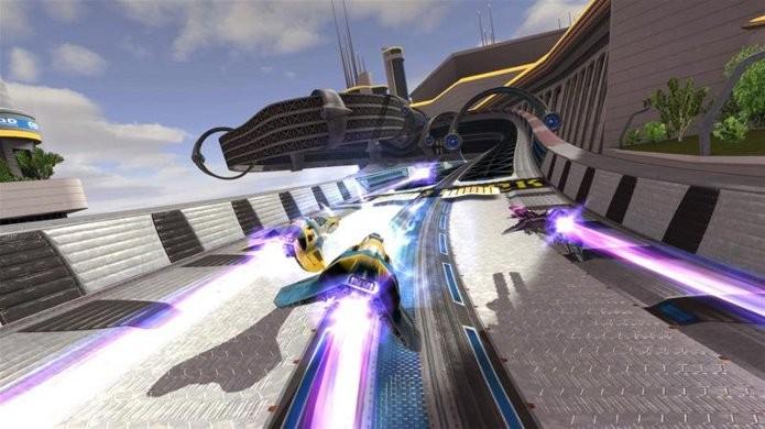 Wipeout HD foi o último game da franquia, lançado em 2008 para PS3. (Foto: Divulgação)
