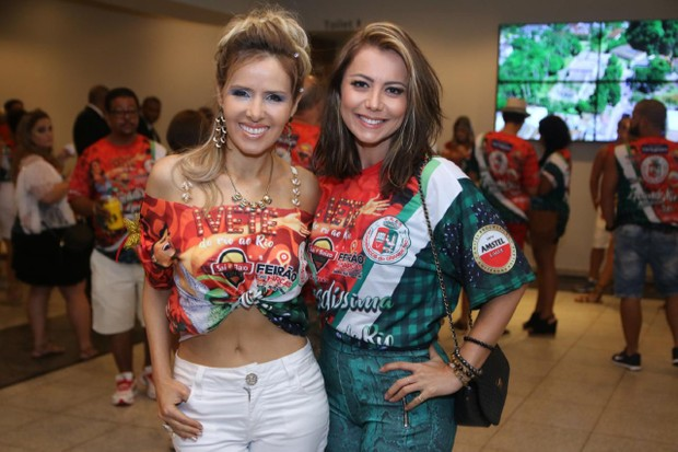 Leona Cavalli e Simone Soares (Foto: Daniel Pinheiro/AgNews )