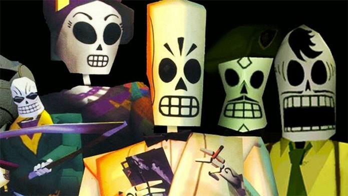O divertido Grim Fandango está de graça na PS Plus (Foto: Divulgação/Double Fine)