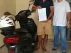 No CE, motociclista recebe multa por 'conduzir sem cinto de segurança'
