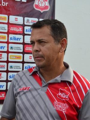 Jazon Vieira, treinador do Auto Esporte (Foto: Rammom Monte / GloboEsporte.com/pb)