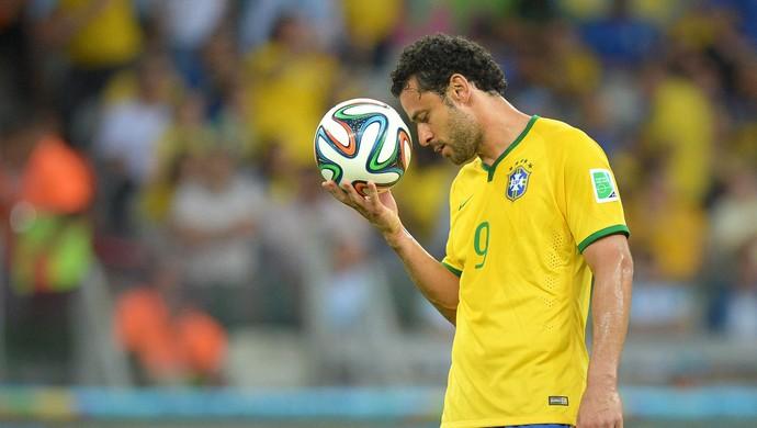 Fred Brasil x Alemanha  (Foto: EFE)