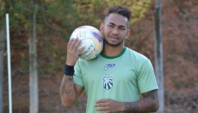 Atacante Diney, que fez o gol do empate no primeiro jogo, é uma das esperanças para partida decisiva (Foto: Filipe Martins)