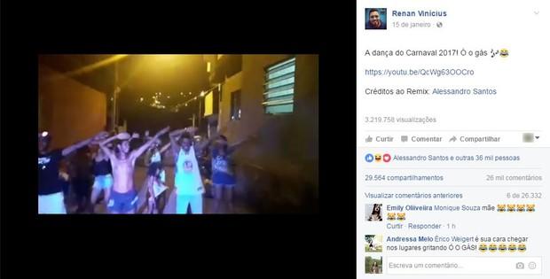 Funk do Gás (Foto: Reprodução/Facebook)