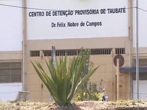 CDP de Taubaté, que estaria superlotado. (Foto: Reprodução/TV Vanguarda)