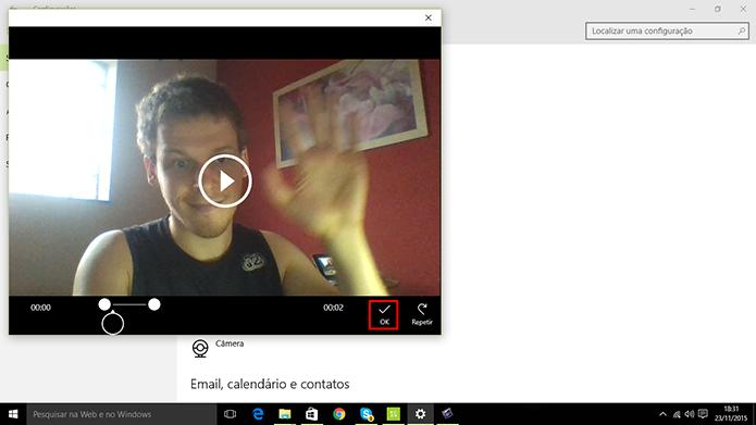 Windows 10 exibirá prévia de vídeo antes que usuário adote-o na tela de entrada (Foto: Reprodução/Elson de Souza)