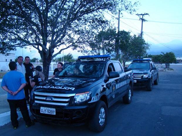 Investigações da operação 'Elefante Branco' foram coordenadas pelas polícias do RN e Ceará (Foto: Polícia Civil)