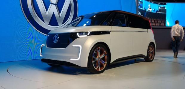 Volkswagen Budd-e no Salão do Automóvel 2016 (Foto: Gus])