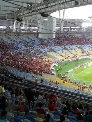 Torcida Flamengo Maracanã (Foto: Richard Souza)