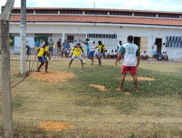 Campeonato de futebol no maior presídio do RN (Foto: Divulgação)