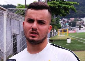 Jean Chera, primeiro jogo-treino (Foto: Cássio Lyra)