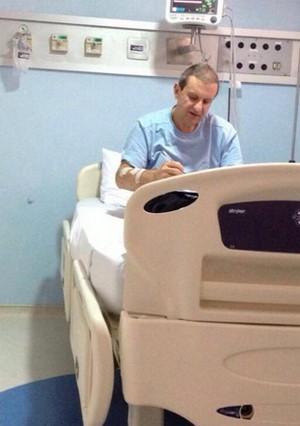 Quadro clínico de Alberto Youssef é estável