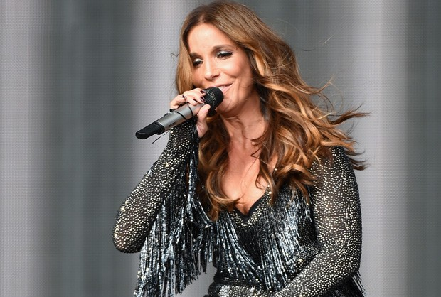 Ivete se apresenta no palco principal do Rock in Rio USA, em Las Vegas (Foto: Ethan Miller/Getty Images North America/AFP)