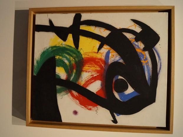 Miró é considerado um dos maiores ícones do surrealismo (Foto: Juliano Zanotelli/ RBS TV)