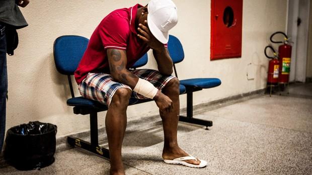 Jobson são caetano suposta agressão a esposa (Foto: Eduardo Anizelli / Folha Press)