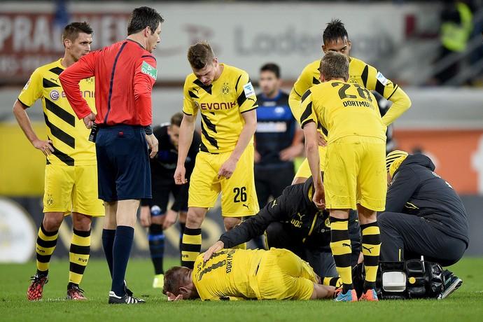 Marco Reus, Paderborn x Borussia Dortmund (Foto: AFP)