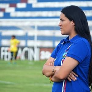 Macarena Deichler técnica do Vitória-PE (Foto: Divulgação/Vitória-PE)