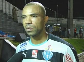 Emerson, goleiro, Paysandu, ABC (Foto: Reprodução/Premiere)