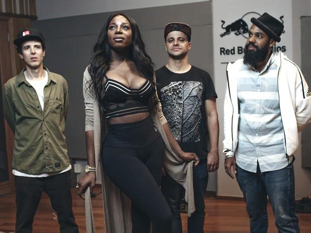 BaianaSystem convida a angolana Titica no show do dia 22 de setembro, no Palco Sunset (Foto: Divulgao/Rock in Rio)