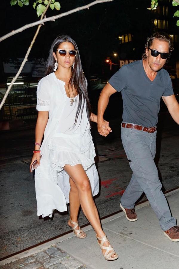 Camila Alves e Matthew McConaughey (Foto: Instagram/Reprodução)