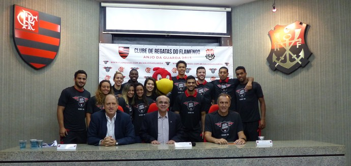 Projeto Anjo da Guarda Flamengo (Foto: Fred Gomes)