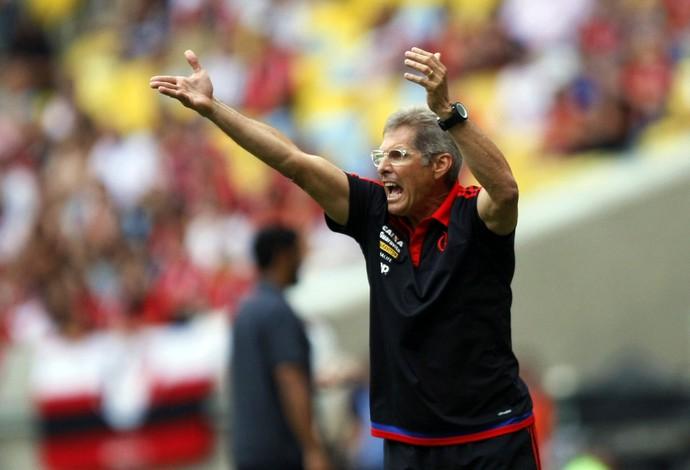 Oswaldo de Oliveira Flamengo x Joinville (Foto: André Durão / GloboEsporte.com)