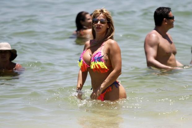 Denise Rocha (Foto: Marcos Ferreira / Photo Rio News)