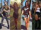 Veja os looks das famosas no primeiro dia do Coachella nos EUA