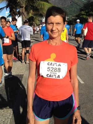Meia Maratona Internacional do Rio de Janeiro 2012 - Maria das Graças Pirola (Foto: Luiz Cláudio Amaral / Globoesporte.com)