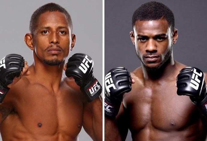 Montagem MMA Johnny Eduardo x Aljamain Sterling (Foto: Montagem sobre foto da Getty Images)