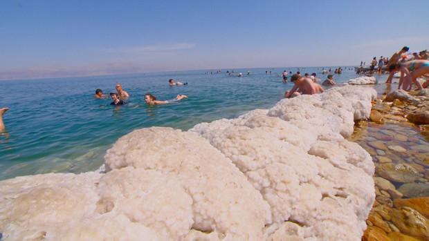 Equipe do Terra da Gente registra as belezas da Terra Santa, em Israel (Foto: Reprodução)