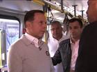 Doria diz que não vai aumentar tarifa de ônibus em São Paulo