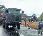 Acidente com veículo militar mata 3 em MG (Polícia Rodoviária Federal)