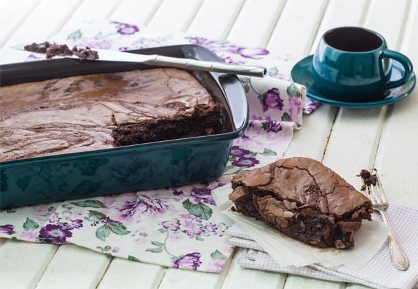 O brownie ligt (sim, isso existe!) (Foto: Divulgação)