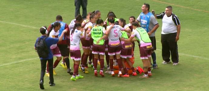 Ferroviária x Botafogo-RJ - Brasileiro feminino 2014 (Foto: Eder Ribeiro/EPTV)