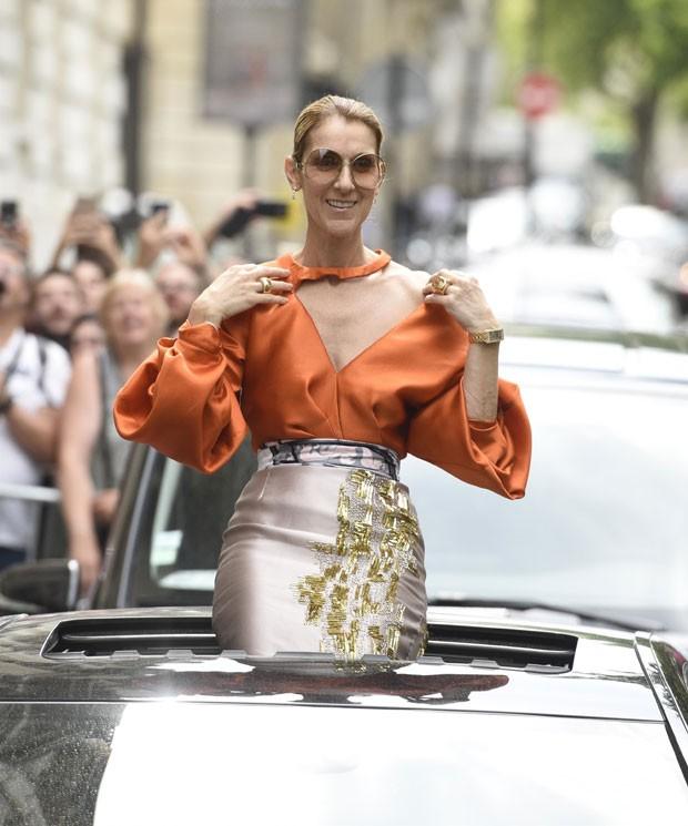 Céline Dion (Foto: AKM-GSI Brasil)