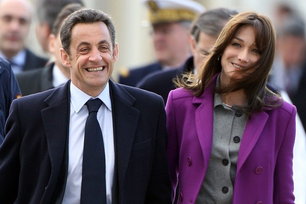 Nicolas Sarkozy e Carla Bruni (Foto: Getty Images)