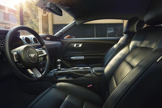 2018 Ford Mustang Interior (Foto: Divulgação)