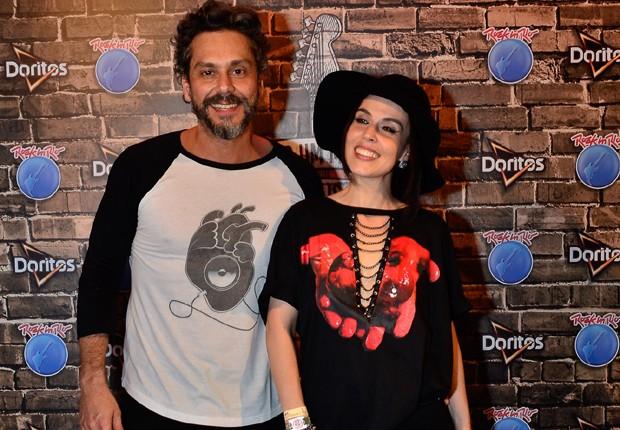 Alexandre Nero e a mulher, Karen Brusttolin (Foto: Felipe Panfili/Divulgação)